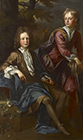 George and Thomas Dashwood by John Closterman