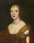 Anne, Lady Russell, later Countess of Bedford by Remigius Van Leemput