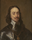 King Charles I in armour by Circle of Sir Anthony Van Dyck