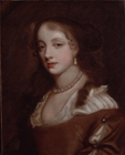 A courtesan by Studio of Sir Peter Lely