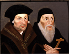 Sir Thomas More and Bishop Fisher by  English School