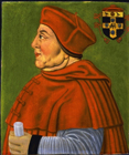 Cardinal Thomas Wolsey by  English School