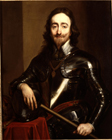 King Charles I by Studio of Sir Anthony  Van Dyck