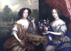 Lady Anne Barrington and Lady Mary St John by Henri Gascars