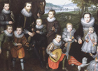 Family group by Cornelis de Vos Attributed to